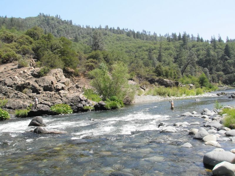 Upper Sacramento pocket water