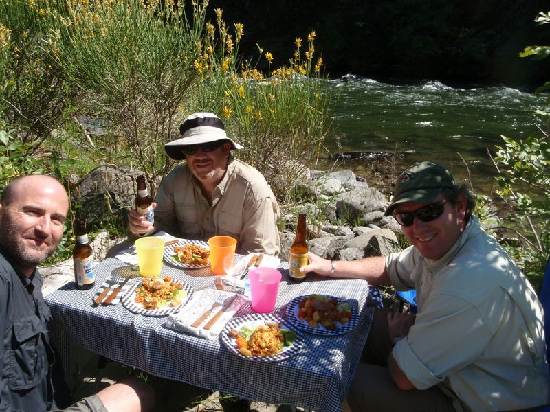 Jack Trout Gourmet River Lunch