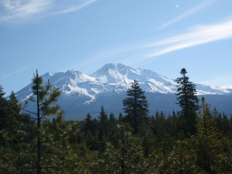Mt Shasta June 2010