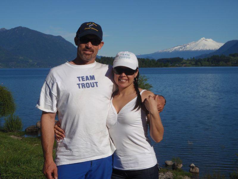 Jack & Carola Trout Lago Panguipulli Chile