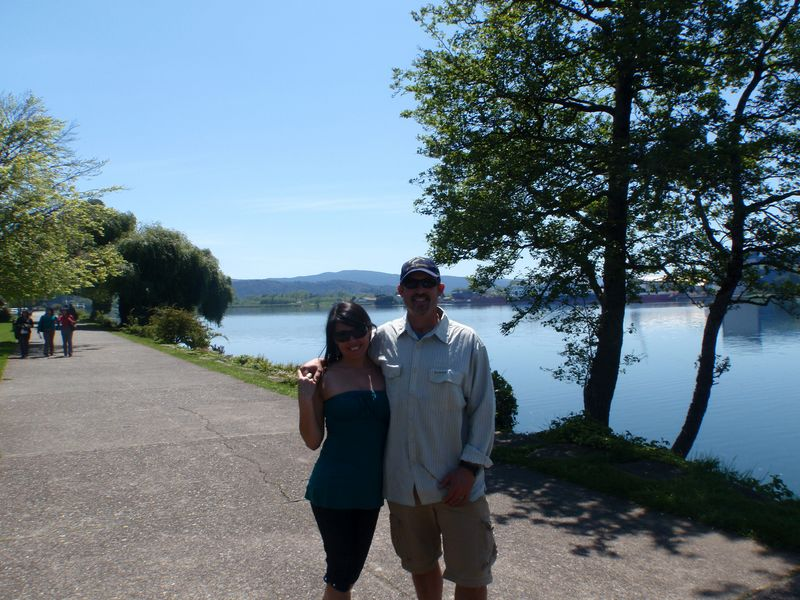 Jack & Carola Trout in Valdivia Chile