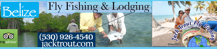 Fly fishing guide Belize