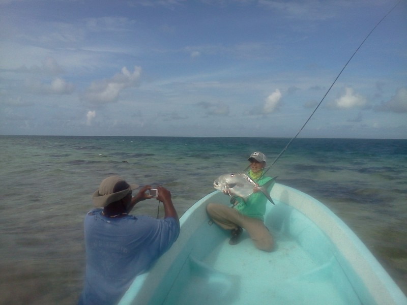 Belize Jack Trout Fly Fishing