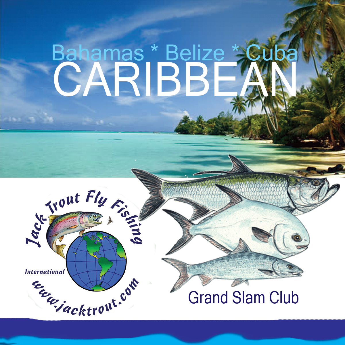 Fly fishig Caribbean for Grand Slam