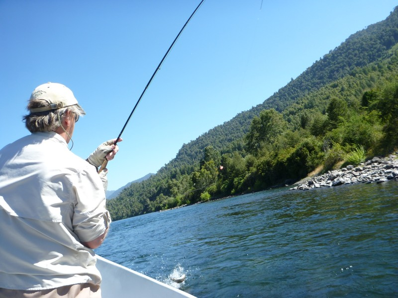 jack Trout fly fishing guide Chile