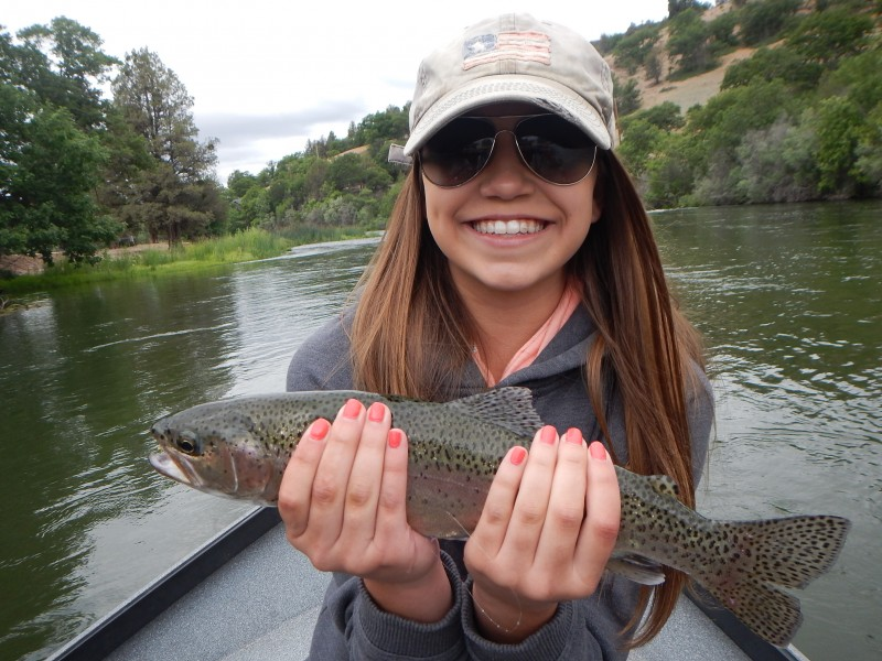 Northern california fly fishing report trout unlimited for Salmon fishing northern california