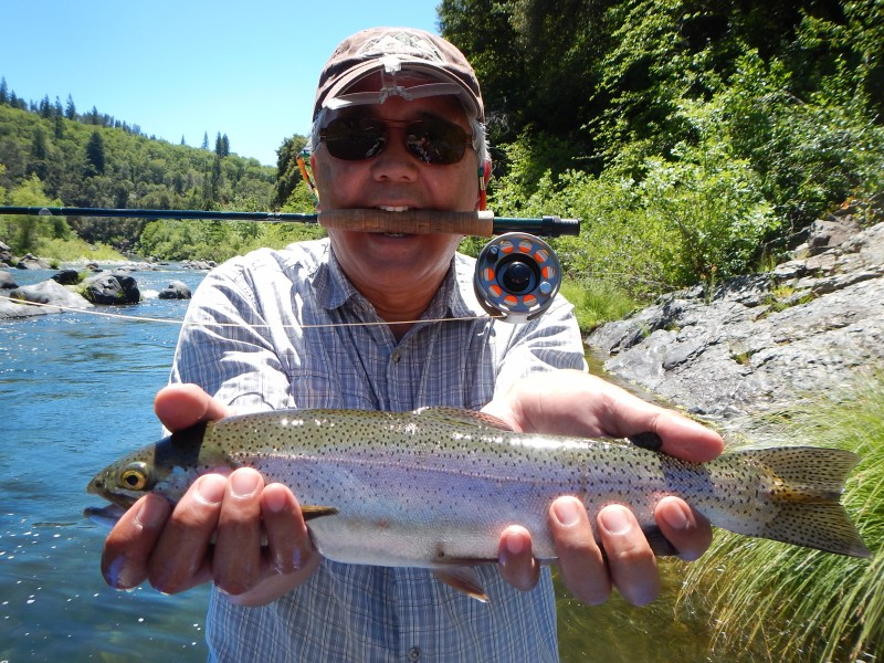 Jack Trout river bass california