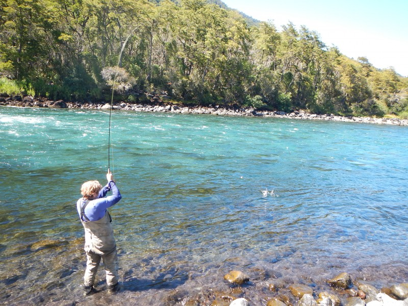 Chile Couples Fly Fishing