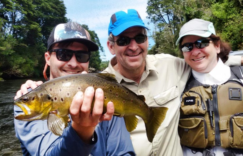 Mattias Bayer Chilean Fly Fishing Guide