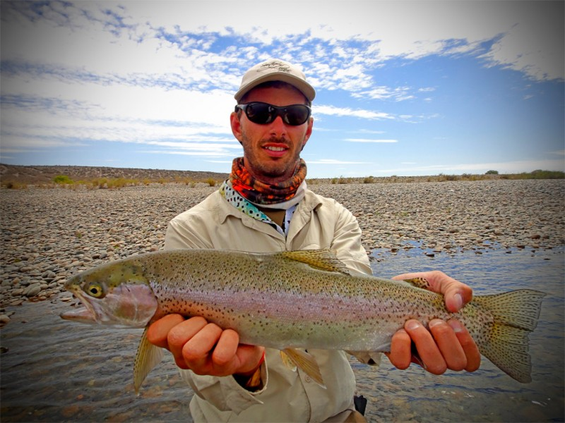 Jack Trout Argentina fly fishing