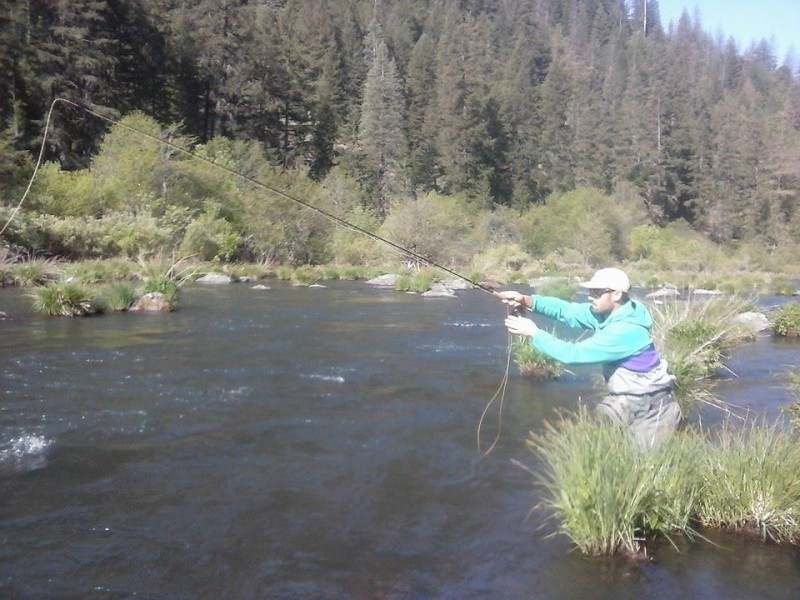 California fly fishing fall report trout unlimited for Best fishing spots in california