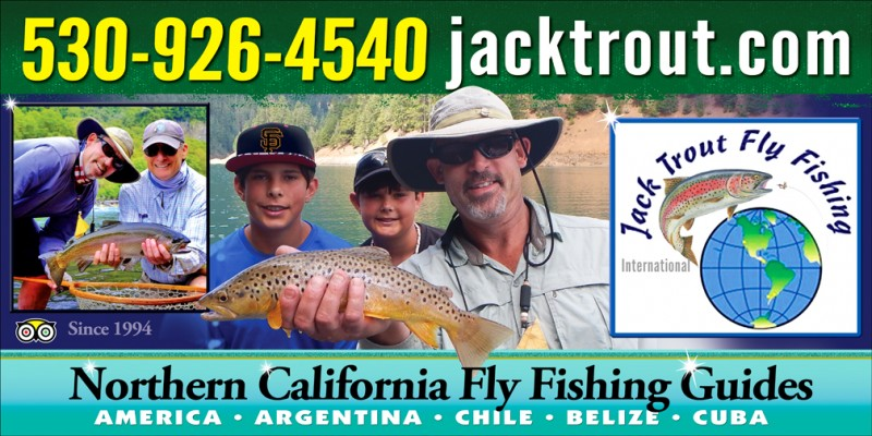Jack Trout Fly Fishing Banner Logo