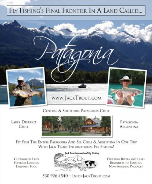 Jack Trout Fly Fishing Patagonia  Argentina