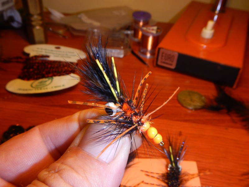 Tie-Dye Crayfish Chile Jack Trout