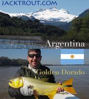 Argentina banner Golden Dorado