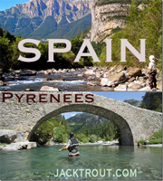 spain pyrenees banner Jack Trout Fly Fishing