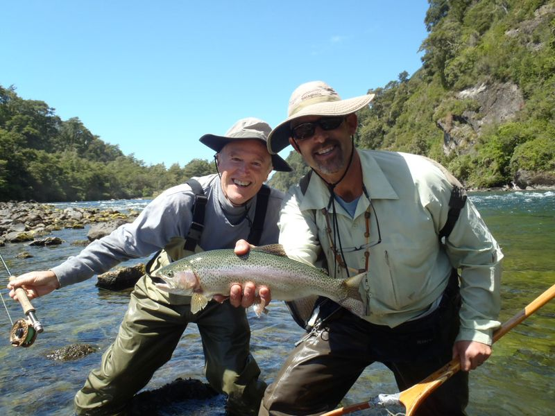 Chile fly fishing Jack Trout