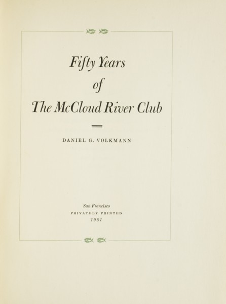 McCloud River Club
