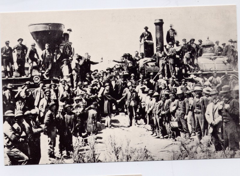 9 Golden Spike Ceremony