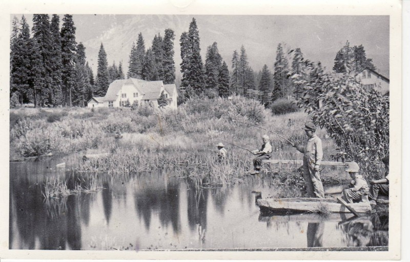 McCloud fishing in town 1900's
