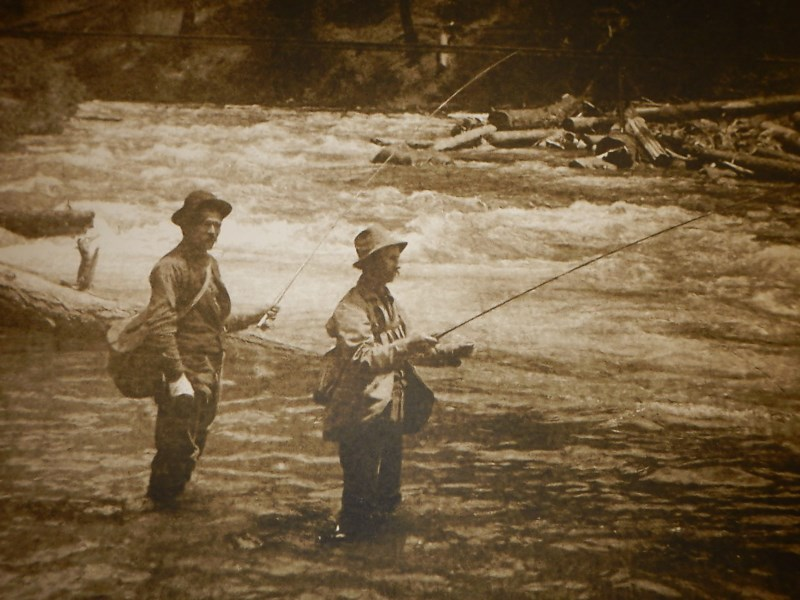 fly fishing McCloud River 1880's