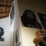 Fidel picture in tourist restaurant Cuba