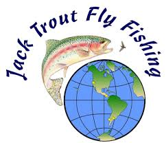 Jack Trout fly fishing logo