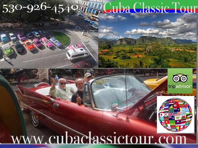 Tours in Classic Cars Cuba