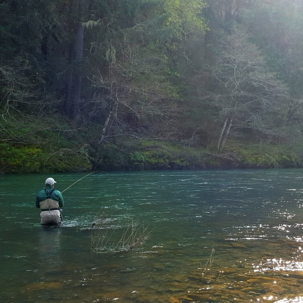 Rogue River Fly Fishing Brandon Worthington