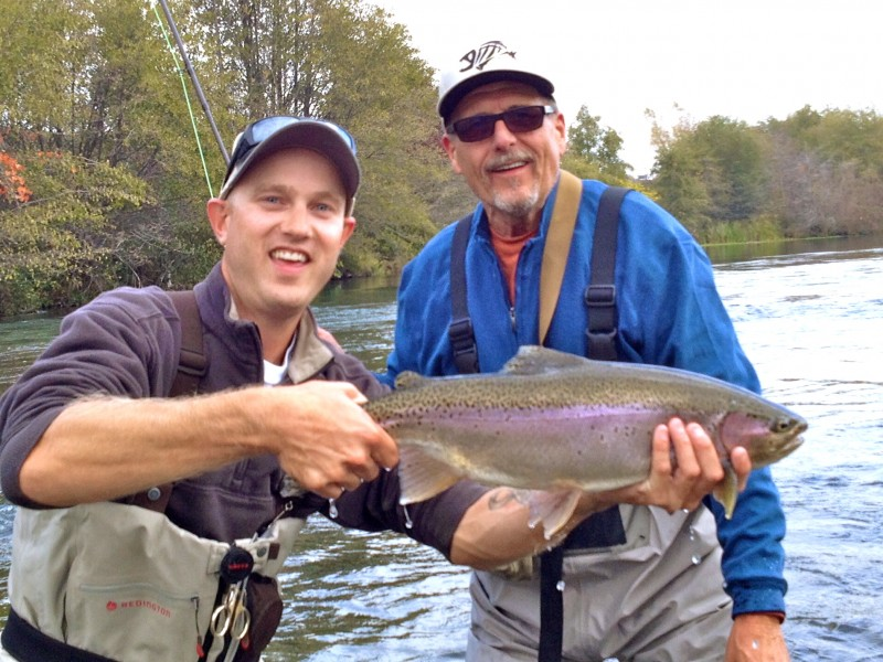 Steelhead On The Feather River