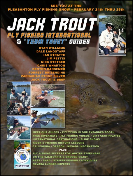 Jack Trout Sportsmen Show Ad Cal Fly