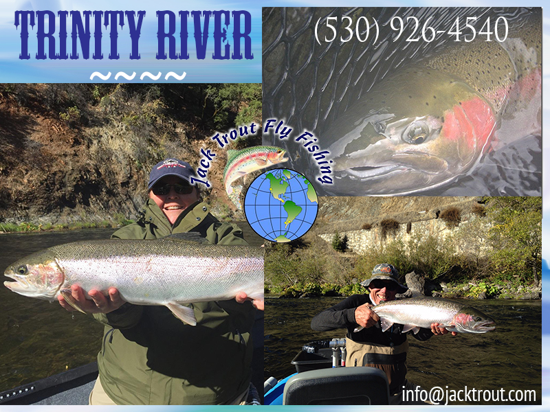 Fly fishing Trinity River 2017