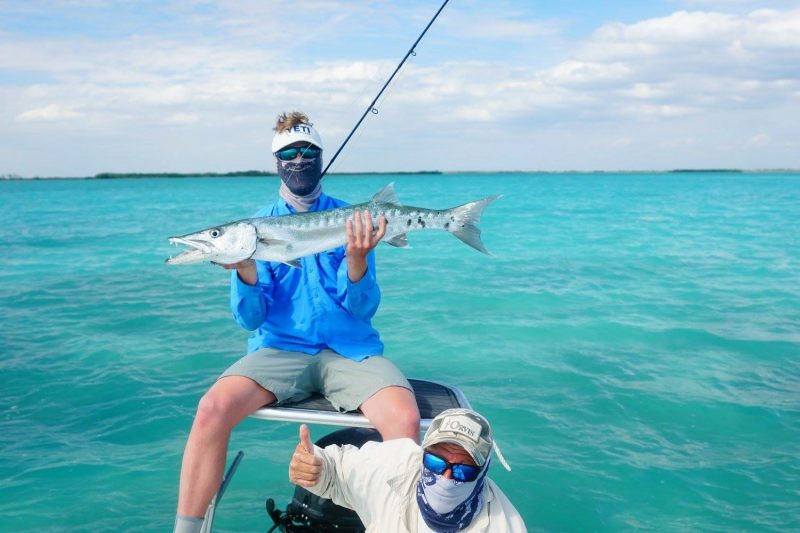 Cuba fishing one day