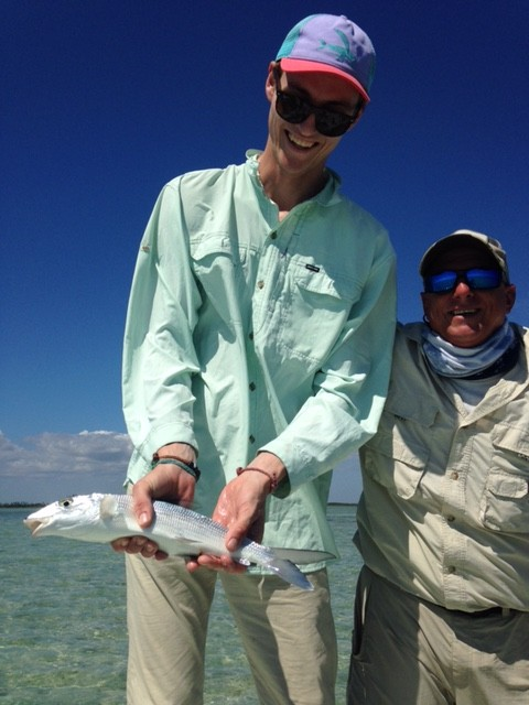 Fly Fishing bonefish Cuba