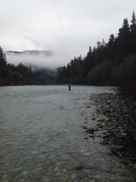 Fly Fishing on The Smith River California