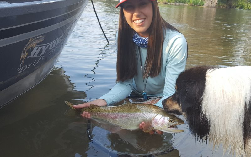 Fly fishing guide Kayla Katayama