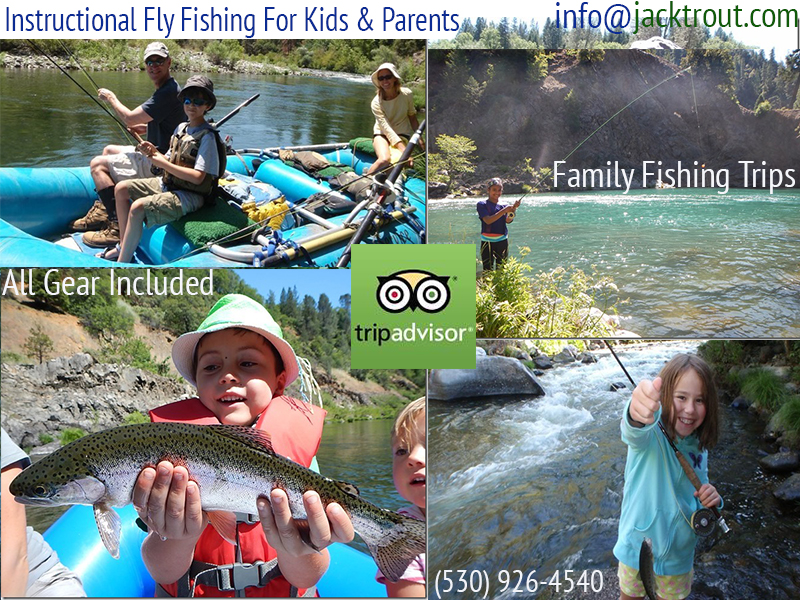 Fly fishing guides for kids