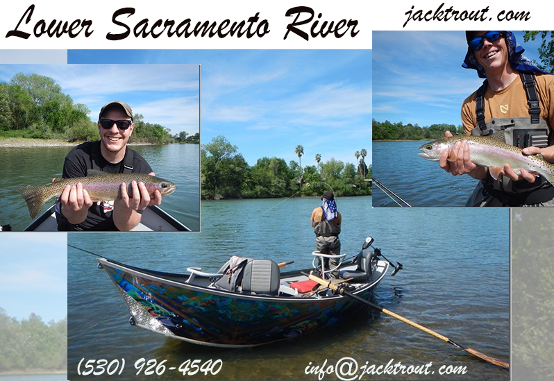 Lower Sac Fishing Information