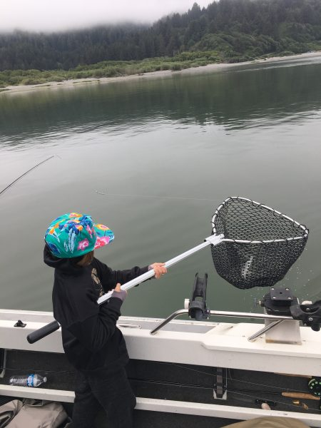Fly fishing Lower Klamath river