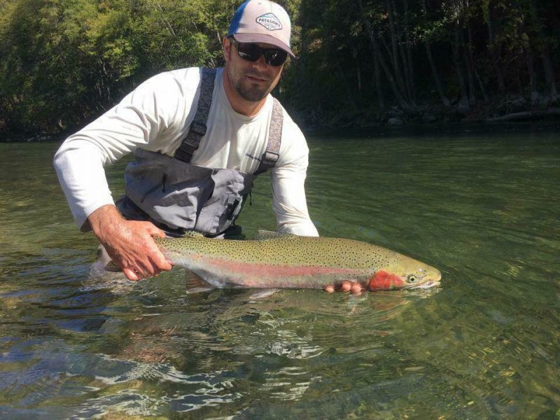 Steelhead fishing Trinity river