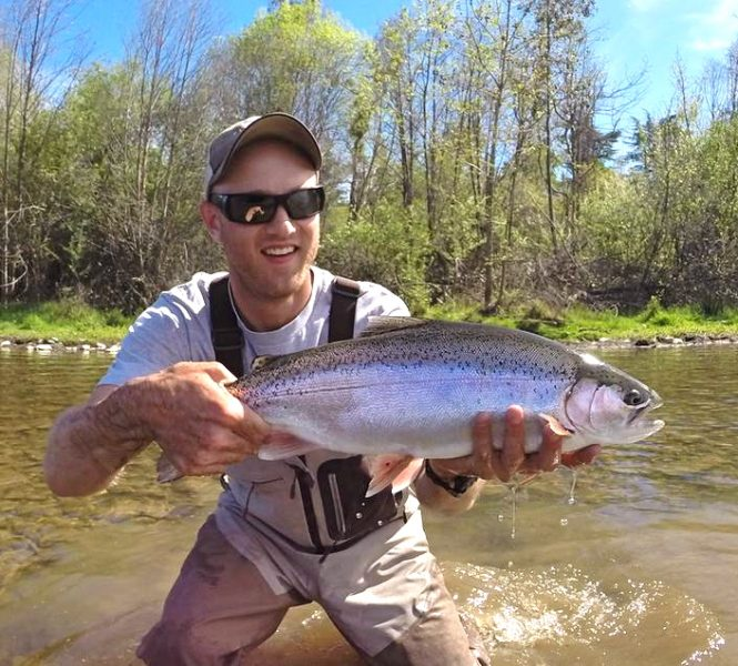 Lower Feather Fly Fishing Steelhead