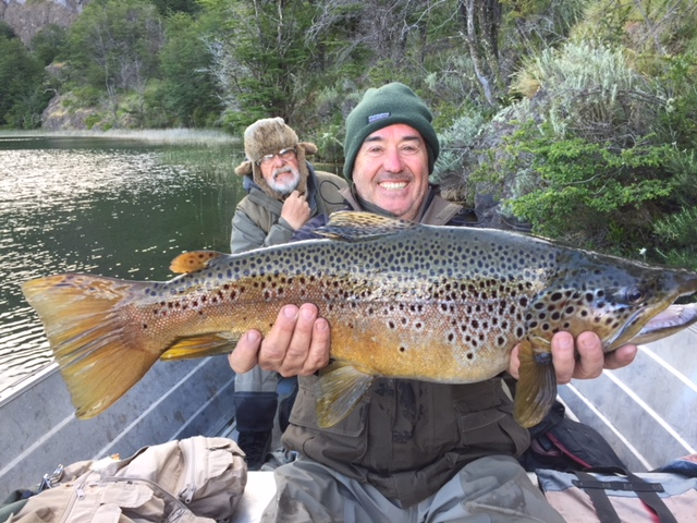 Fly fishing Southern Patagonia