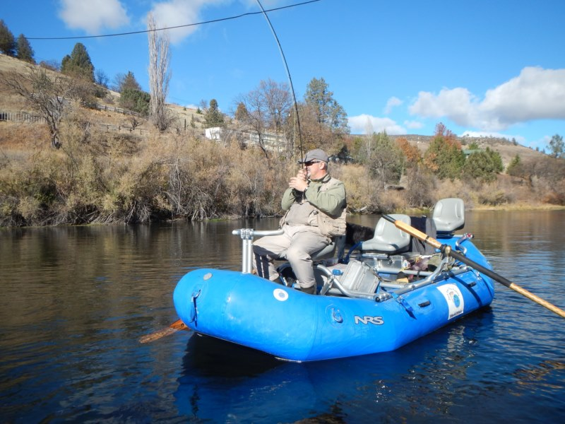 Steelhead fly fishing drift trips