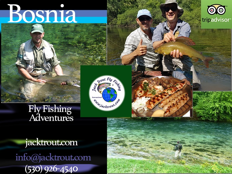 Fly fishing Croatia Bosia