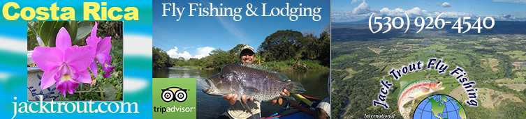 Costa Rica Fly Fishing Rivers