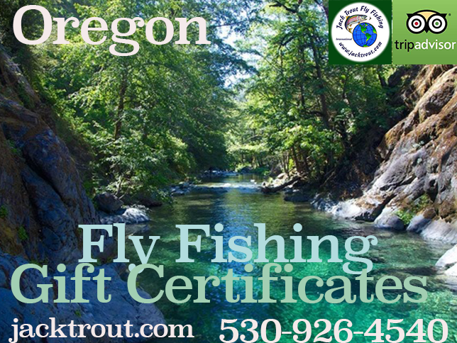 Fly fishing gift cards Oregon