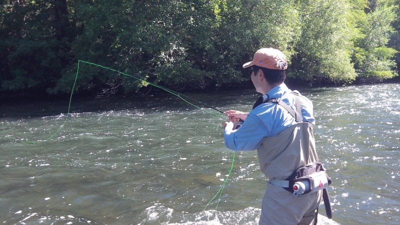 Fly Fishing Pit River Northern California