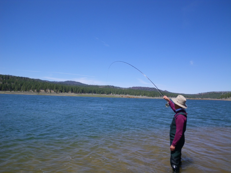 fly fishing guides Lake Davis Portola