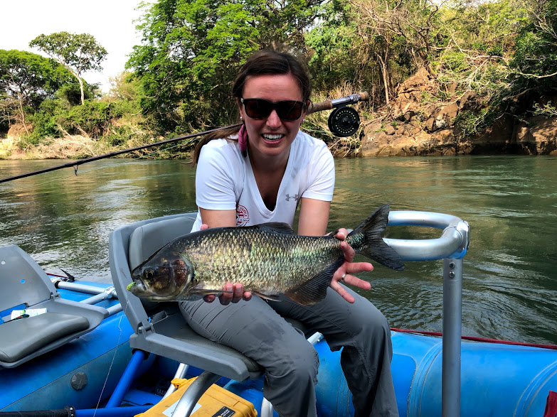 River fly fishing Costa Rica