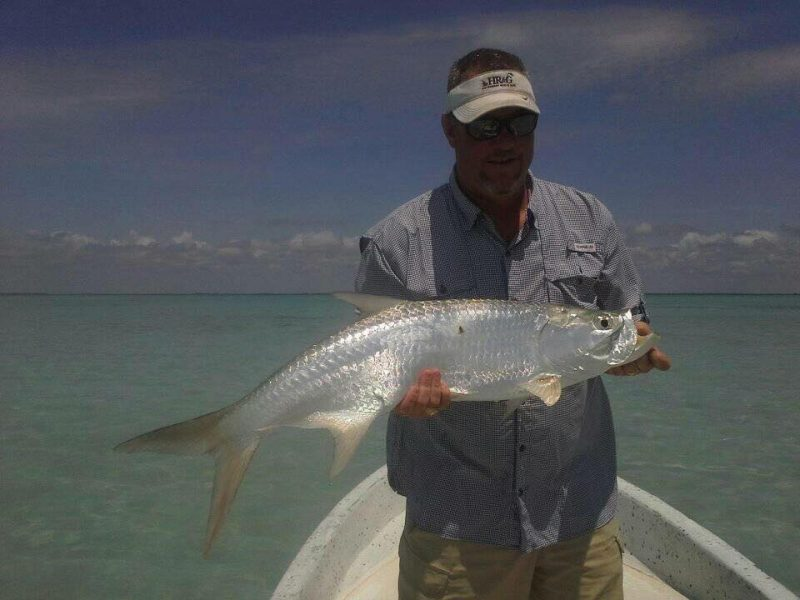 Belize fly fishing guides report